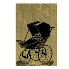 Gothic Baby Carriage Postcards (Package of 8)