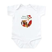 Knitters Christmas - Merry Knit-mas Infant Bodysui