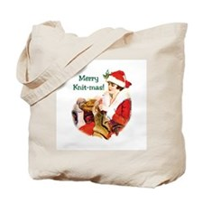Knitters Christmas - Merry Knit-mas Tote Bag
