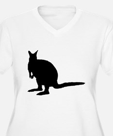 Wallaby. Plus Size T-Shirt