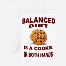 COOKIE DIET Greeting Cards (Pk of 10)