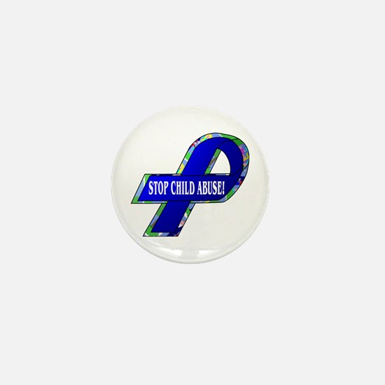 Child Abuse Awareness Mini Button (100 pack)