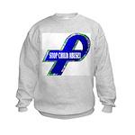 Child Abuse Awareness Kids Sweatshirt