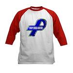 Child Abuse Awareness (2-Sided) Kids Baseball Jers