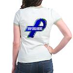 Child Abuse Awareness (Back Design) Jr. Ringer T-S