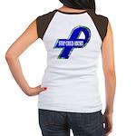 Child Abuse Awareness (Back Design) Women's Cap Sl