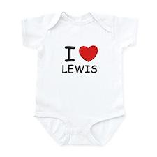 I love Lewis Infant Bodysuit