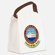Funny Oasis of the seas Canvas Lunch Bag