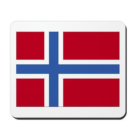 Norway Flag Mousepad