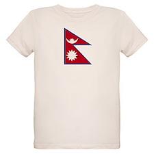nepal Flag T-Shirt