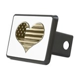 Vintage american flag Hitch Covers