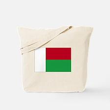 Madagascar Flag Tote Bag