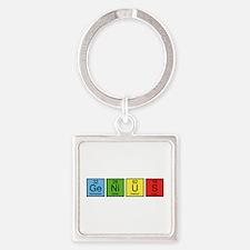Genius Square Keychain