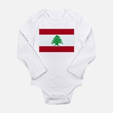 Lebanon Flag Body Suit