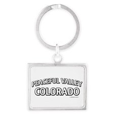 Peaceful Valley Colorado Keychains