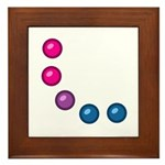 Bi Baubles Framed Tile