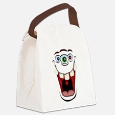 3 Eyed Monster Canvas Lunch Bag