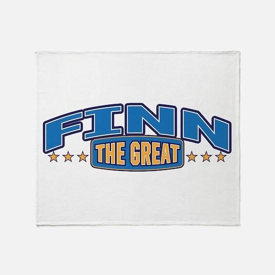 The Great Finn Throw Blanket