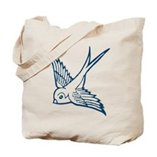 swallow schwalbe bird vogel wings spring fly Tote