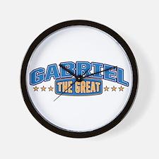 The Great Gabriel Wall Clock
