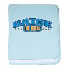 The Great Gaige baby blanket