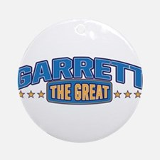 The Great Garrett Ornament (Round)
