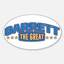The Great Garrett Decal