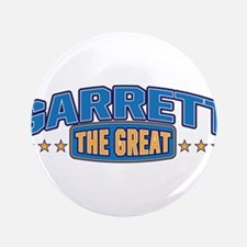 "The Great Garrett 3.5"" Button (100 pack)"