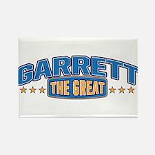 The Great Garrett Rectangle Magnet