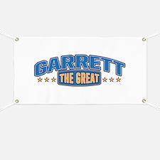 The Great Garrett Banner