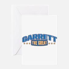 The Great Garrett Greeting Card