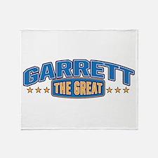 The Great Garrett Throw Blanket