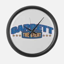 The Great Garrett Large Wall Clock