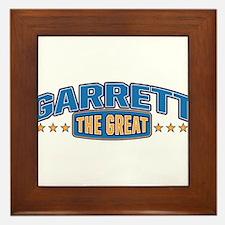 The Great Garrett Framed Tile