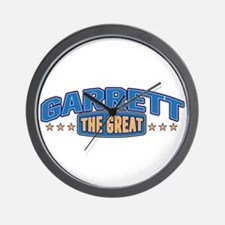 The Great Garrett Wall Clock