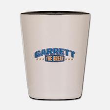 The Great Garrett Shot Glass