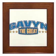 The Great Gavyn Framed Tile