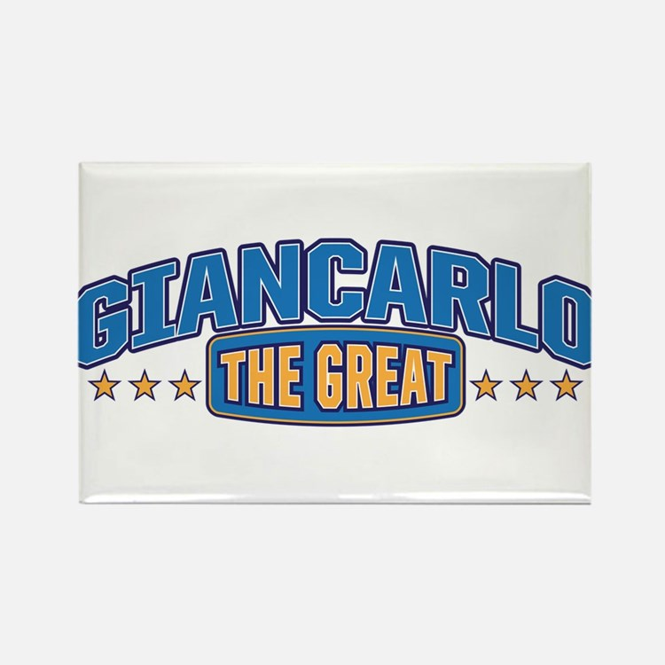 The Great Giancarlo Rectangle Magnet