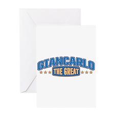 The Great Giancarlo Greeting Card