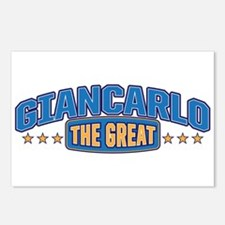 The Great Giancarlo Postcards (Package of 8)