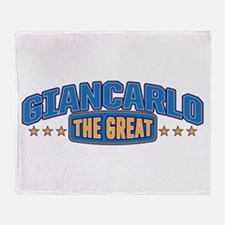 The Great Giancarlo Throw Blanket