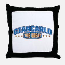 The Great Giancarlo Throw Pillow