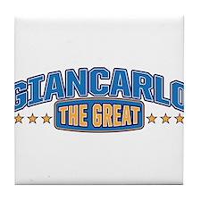 The Great Giancarlo Tile Coaster