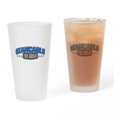 The Great Giancarlo Drinking Glass