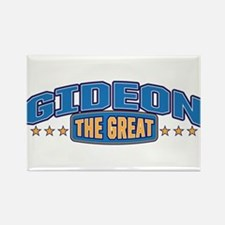 The Great Gideon Rectangle Magnet