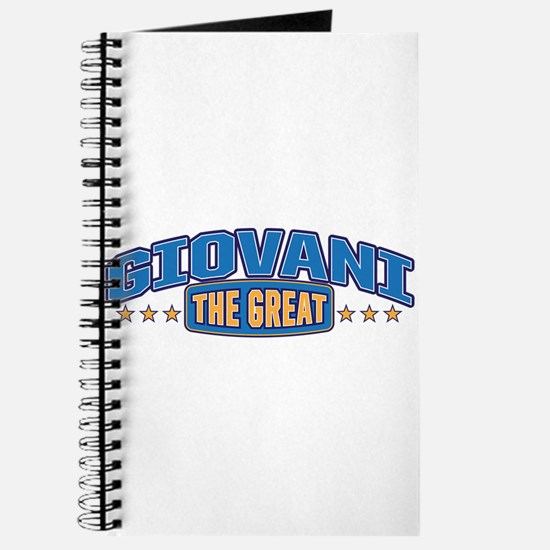 The Great Giovani Journal