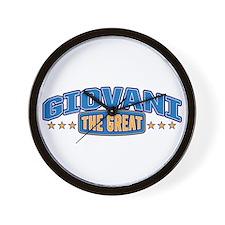 The Great Giovani Wall Clock