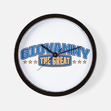 The Great Giovanny Wall Clock