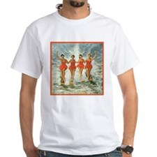 4 waterskiers T-Shirt
