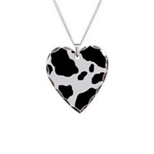 Cow Print Necklace